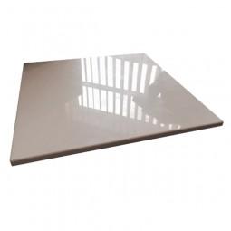 Panel alb lucios pentru cub si podea modulara POSM