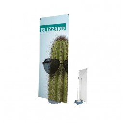 Outdoor banner telescopic
