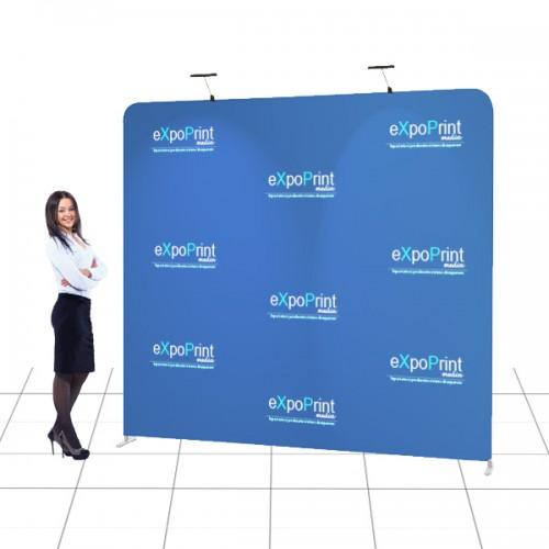 Pop Up Textil Drept 2.5m