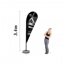 Steag Lacrima L Personalizat 3.4m
