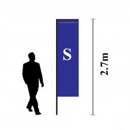 Steag Rectangular Drept 2.7m (S)