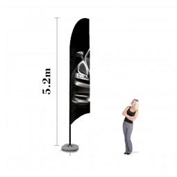 Steag Pana XL Personalizat 5.2m