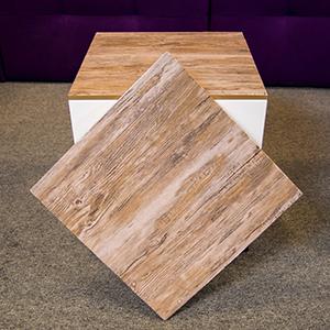 Panel imitatie lemn pentru cub modular posm
